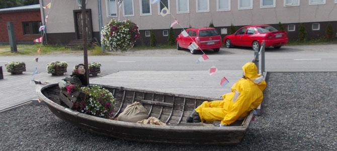 <h3>Финляндия</h3>Рыбацкий остров Репосаари. Такая вот семейка.