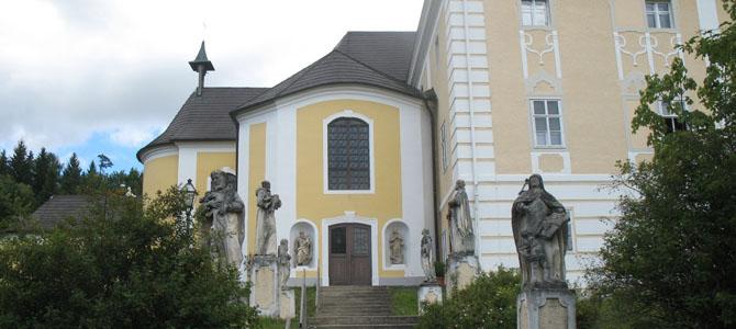 <h3>Австрия</h3><br/>Розенау. Замок масонов.