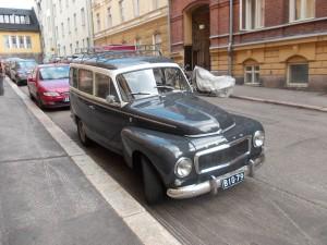 Хельсинки-улицы-ретроавто