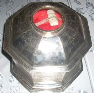Ковчег мощей Св.Валентина