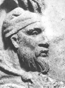 Рельеф Децебала – цара даков