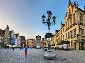 Рыночная площадь во Вроцлове