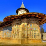 Воронец монастырь Румыния