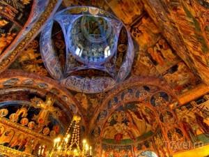 Воронец потолок монастыря
