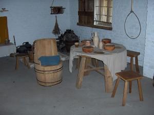 комната старого рыбака